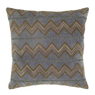 Jamui Velvet Cushion Blue