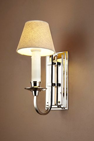 East Borne Sconce Base Nickel