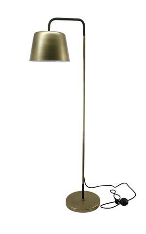 Fancourt Floor Lamp In Antique Brass