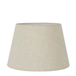Linen Taper Lamp Shade Large Light Natural