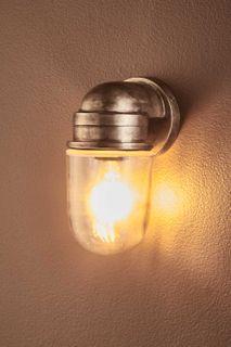 Nautical Wall Lamp Silver