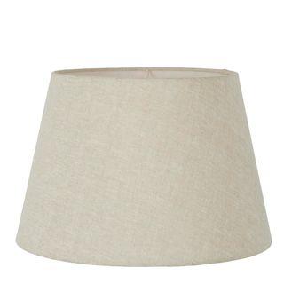 Linen Taper Lamp Shade XL Light Natural