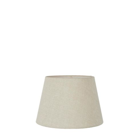 XXS Taper Lamp Shade (8x5x5 H) - Light Natural Linen - Linen Lamp Shade with E27 Fixture