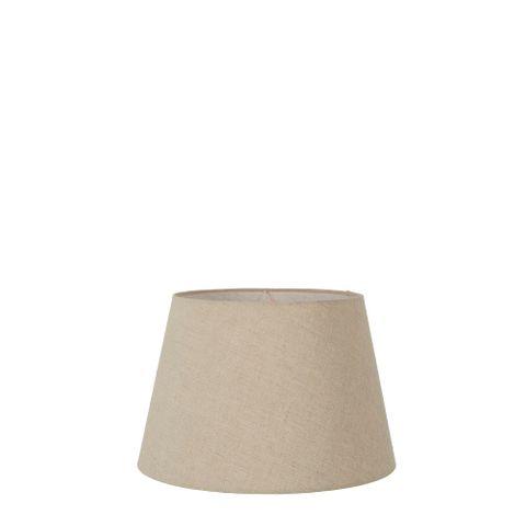 XXS Taper Lamp Shade (8x5x5 H) - Dark Natural Linen - Linen Lamp Shade with E27 Fixture