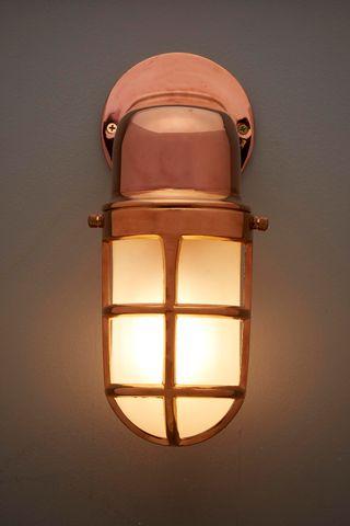 Bronson Outdoor Lamp Brass