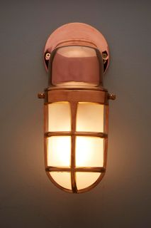 Bronson Outdoor Lamp Brass
