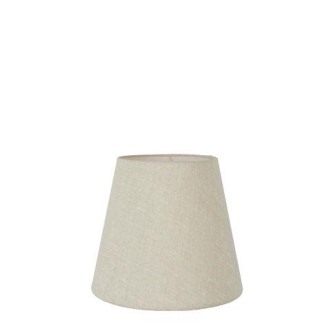 XXS Taper Lamp Shade (7x5x6 H) - Light Natural Linen - Linen Lamp Shade with E27 Fixture