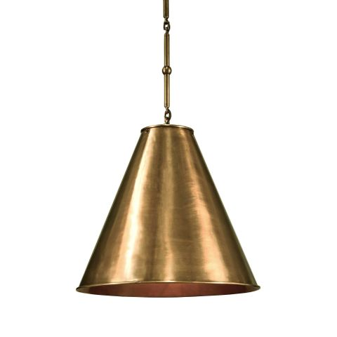 Monte Carlo Hanging Lamp Brass In and Out