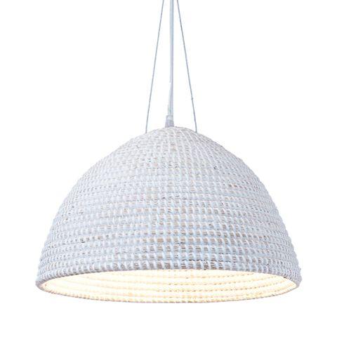 San Marco basket hanging lamp in cream