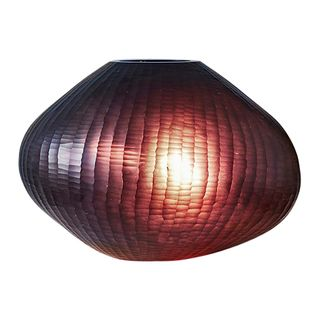 Paris Large - Ruby - Large Freeform Hand Cut Art Glass Table Lamp
