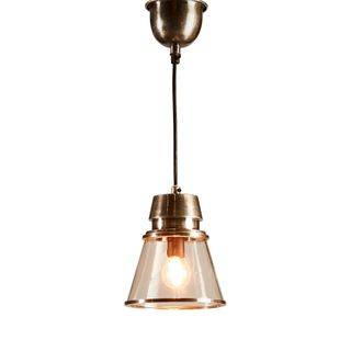 Canberra Hanging Lamp in Antique Silver