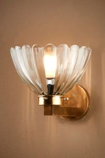Otis Wall Lamp in Antique Brass