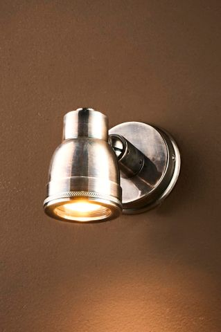 Pasco Outdoor Wall Lamp in Antique Silver