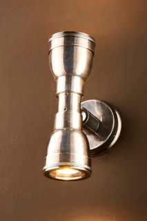Bayport Outdoor Wall Lamp in Antique Silver