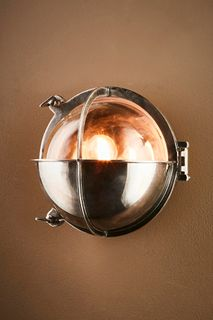 Vienna Outdoor Wall Lamp in Antique Silver
