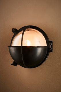 Vienna Outdoor Wall Lamp in Black