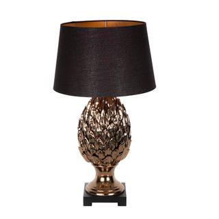 Morris Table Lamp Base w/ wooden base