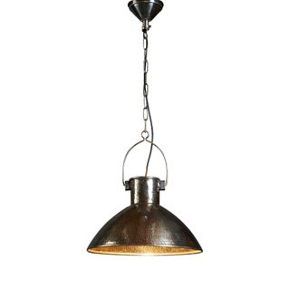 Nelson Hanging Lamp Antique Silver