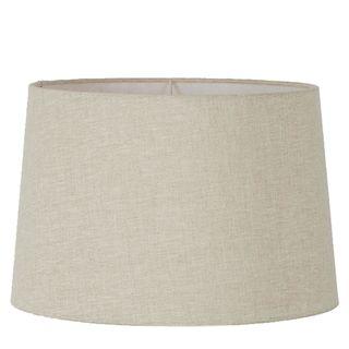 Linen Drum Lamp Shade XXL Light Natural Linen