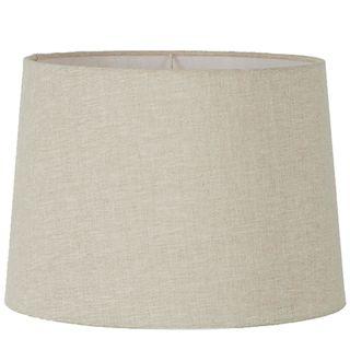 Linen Drum Lamp Shade XXXL Light Natural
