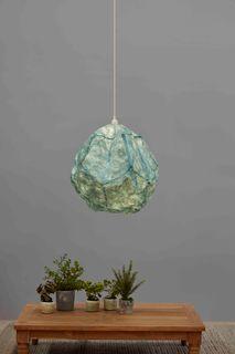 Stratus - Sky Blue - Ball Cloud Paper Pendant Light