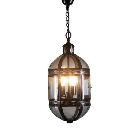 Madrid Hanging Lamp in Black