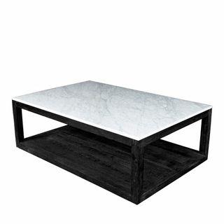 Denver Marble Coffee Table Black