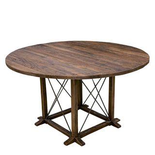 Denver Round Elm Table