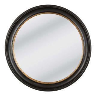 Lourdes Mirror Large 85x85cm Black