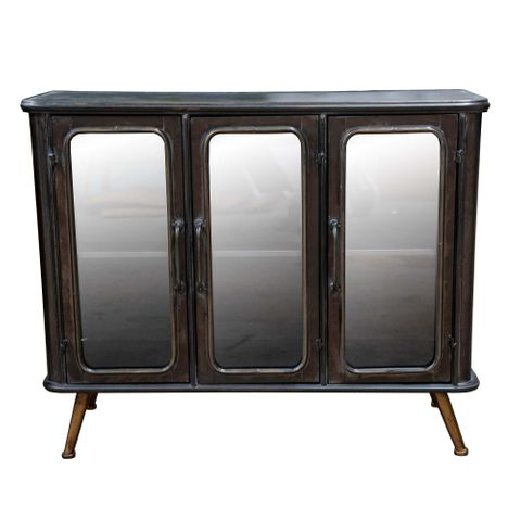Bentley Glass Front Cabinet