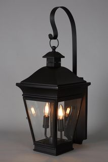 Erikson Outdoor Wall Lamp in Black