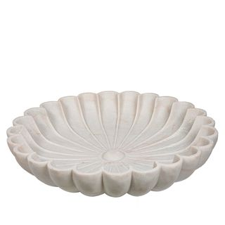 Marble Boule White