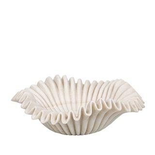 Lehriya Marble Bowl Medium White
