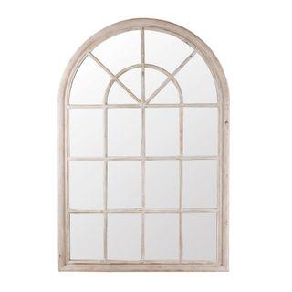 Hamptons Arched Mirror 1x1.5m Grey