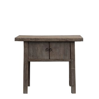 Shanxi Elm 120 Year Antique Wooden Side Table 7