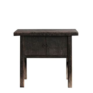 Shanxi Elm 130 Year Antique Wooden Side Table 8