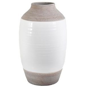 Ceramic Natural Vase Large