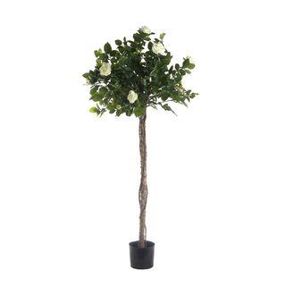 Rose Topiary Light White 1.4m