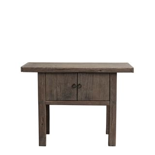 Shanxi Elm 120 Year Antique Wooden Side Table 6