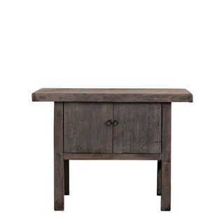 Shanxi Elm 120 Year Antique Wooden Side Table 10