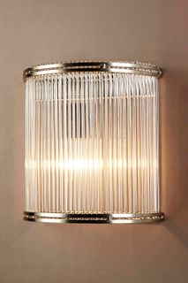 Verre Half Round Glass Wall Lamp