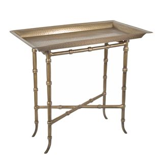 Tray Table Rectangular Brass