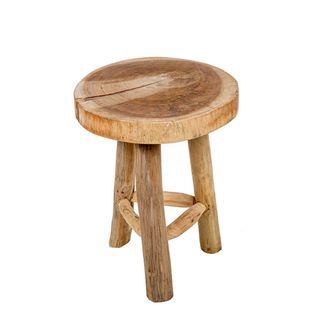 Cancun Wooden Stool