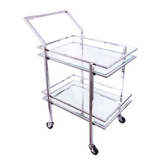 Blue Moon Bar Trolley 66x47x90