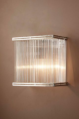 Verre Rectangular Glass Wall Lamp