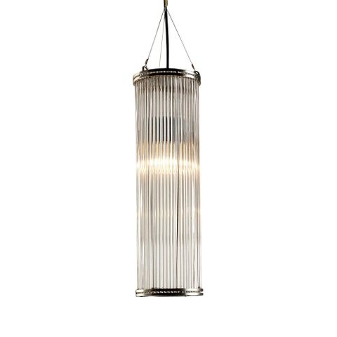 Verre Large Pipe Glass Pendant Lamp