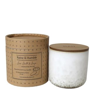 Scented Soy Candle/Canister Sea Salt & S