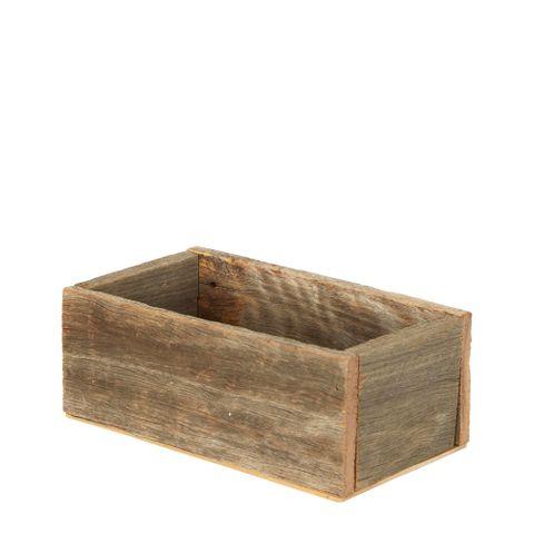 Timber Rectangular Box 23x12x10 Small