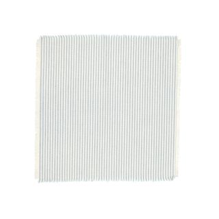 Abby Stripe Napkin 2 side Set of 4 Light Blue