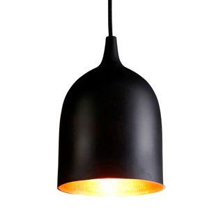 Lumi-R Ceiling Pendant Black and Copper